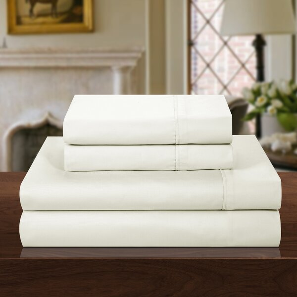 1000 Thread Count 100% Cotton Sheet Set by Chic Home